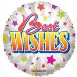 "BEST WISHES BALLOON  18""  19303-18"